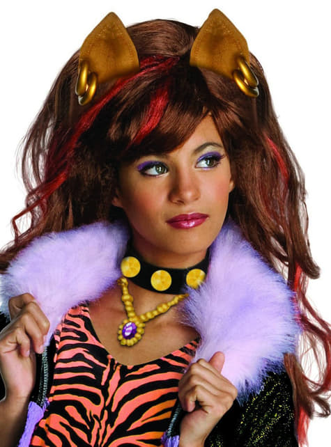 Perruque de Clawdeen de Monster High