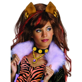 Peluca de Clawdeen de Monster High