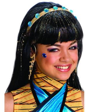 Pruik van Cleo de Nile van Monster High
