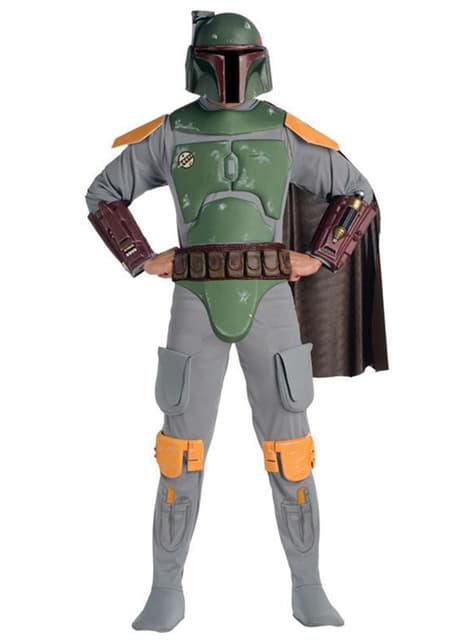 Kostým pro dospělé Boba Fett deluxe