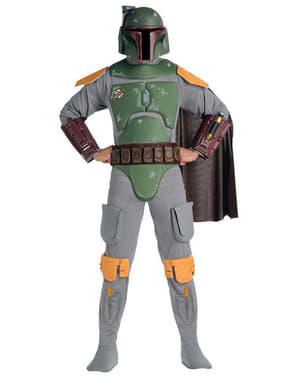 Розкішний костюм Боба Фетта для дорослих