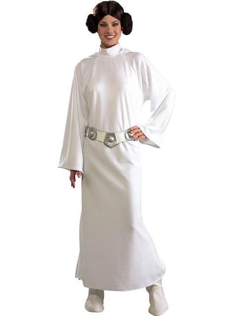 Deluxe Prinses Leia kostuum