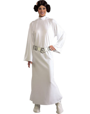 Делюкс костюм принцеси Леї для дорослих