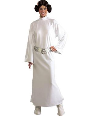 Deluxe Prinsessa Leia -asu aikuisille