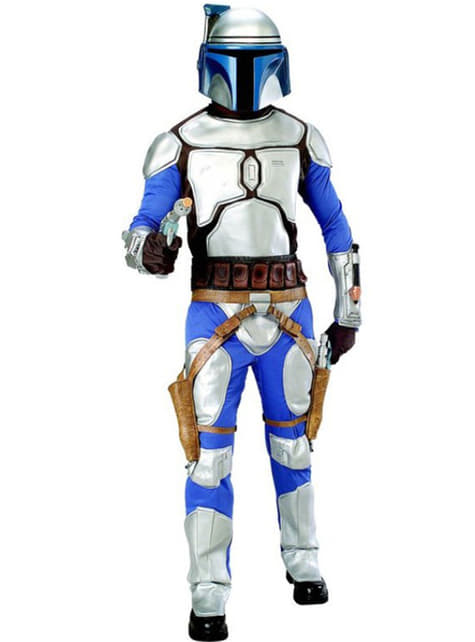 Розкішний костюм Джанго Фетт для дорослих