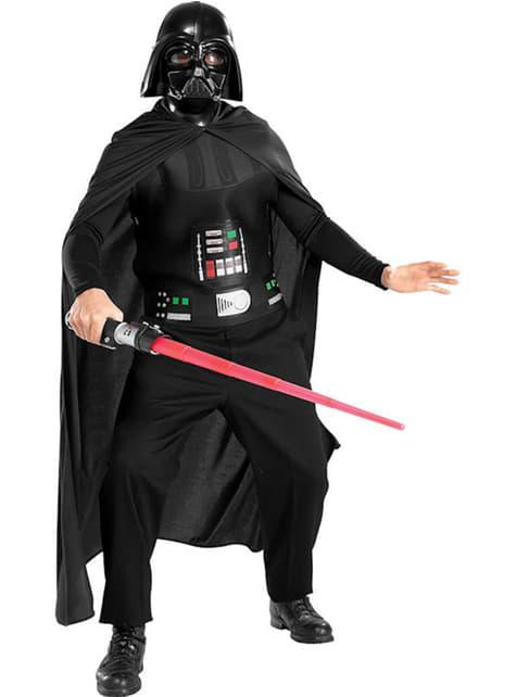 Kostým pro dospělé Darth Vader nízkonákladový