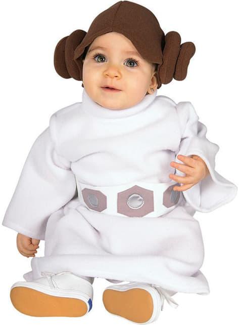 Prinses Leia kostuum voor baby