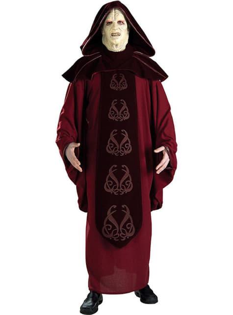 Fato de Imperador Palpatine Deluxe