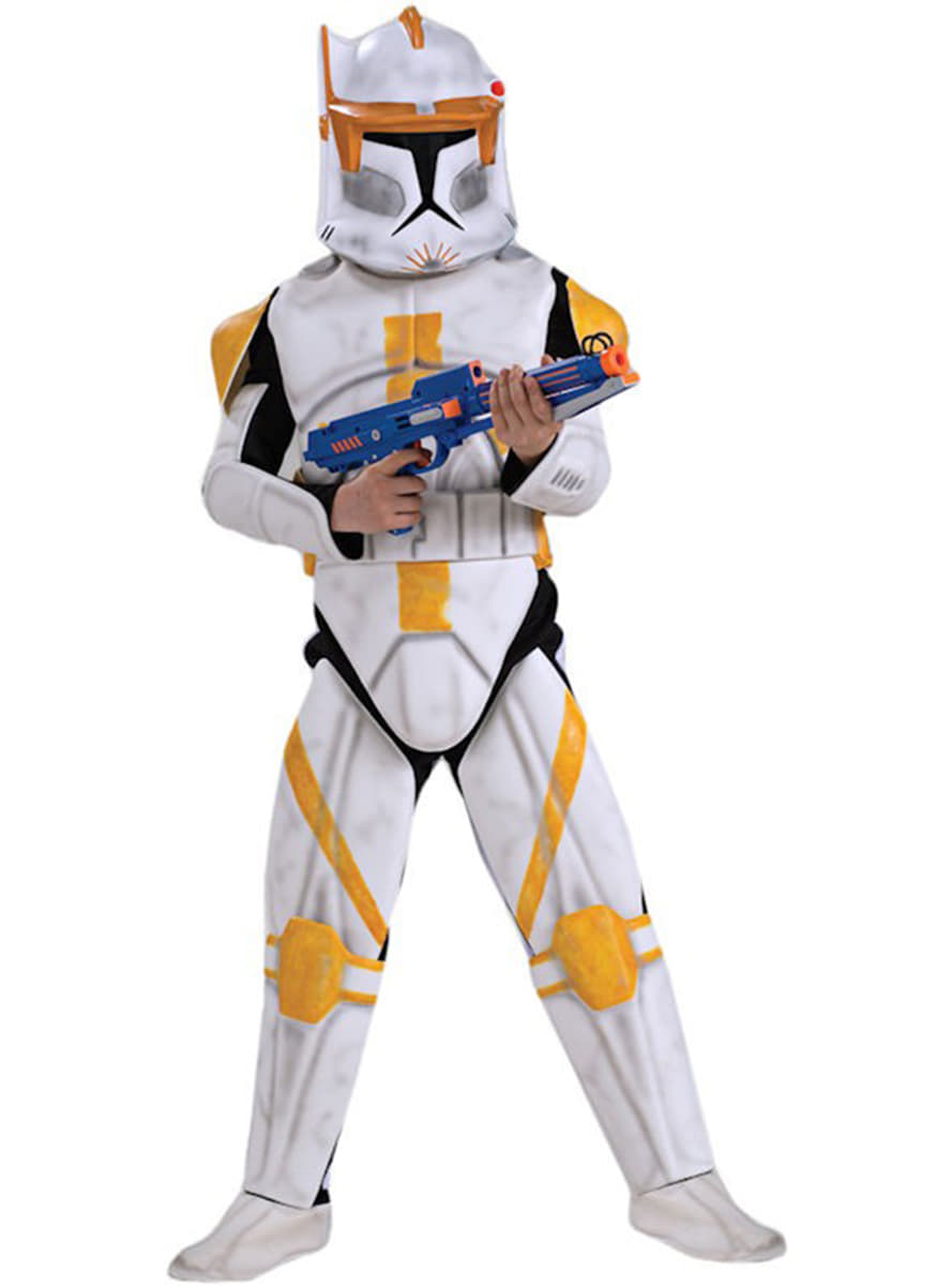 costume de commandant cody clone trooper haut de gamme pour gar on livraison 24h funidelia. Black Bedroom Furniture Sets. Home Design Ideas