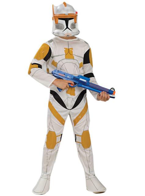 Commandant Cody Clone Trooper kostuum voor jongens