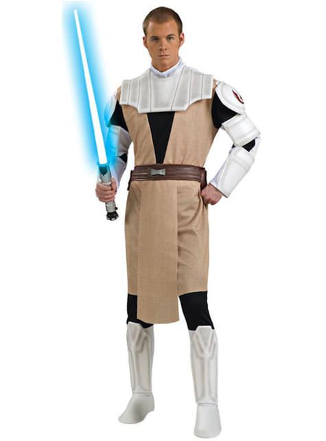 Déguisement d'Obi-Wan Kenobi Clone Wars haut de gamme