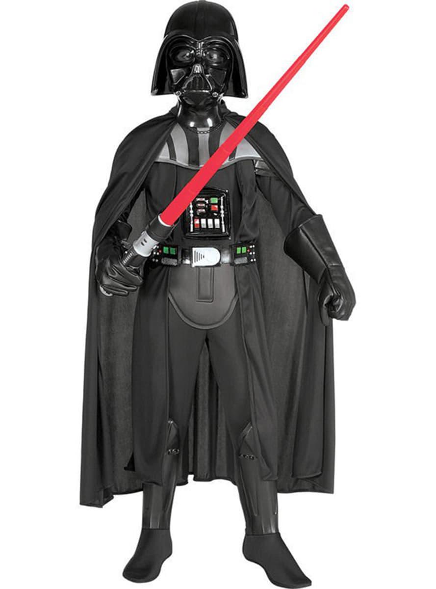 costume de dark vador haut de gamme pour gar on funidelia. Black Bedroom Furniture Sets. Home Design Ideas