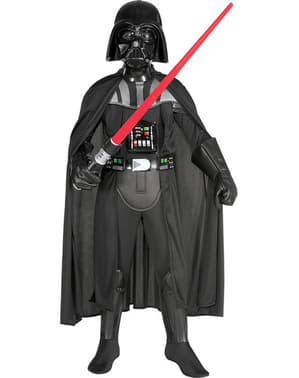 Fato de Darth Vader para menino deluxe