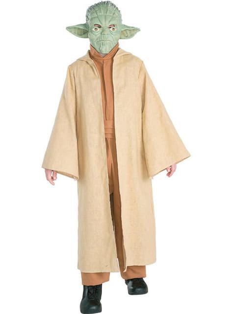Deluxe Yoda kostuum voor jongens