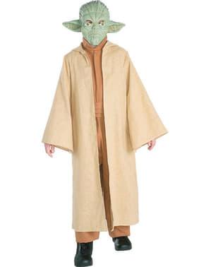 Disfraz de Yoda Deluxe para niño