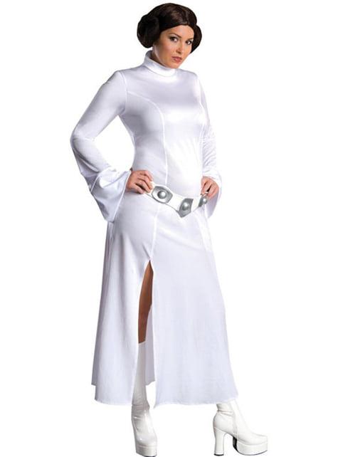 Kostým pre dospelých princezná Leia v nadmernej veľkosti