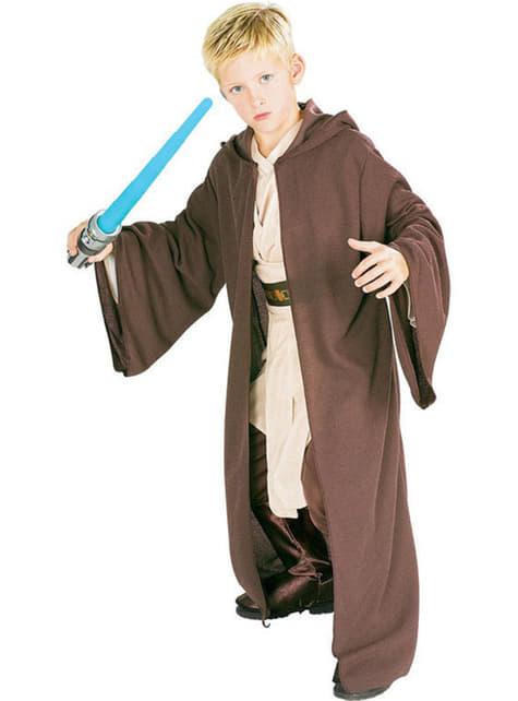 Túnica de Jedi Deluxe para menino