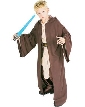 Deluxe Jedi Kappe Barnekostyme