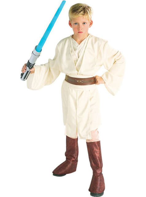 Costume Obi Wan Kenobi deluxe da bambino