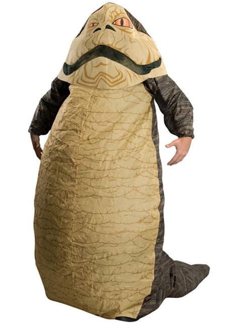 Надуваеми Jabba Hutt Възрастен костюм