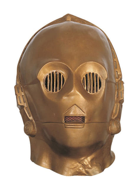 Vinylová maska C-3PO deluxe