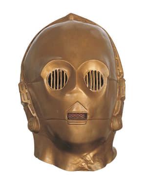 Deluxe מסכת ויניל C-3PO