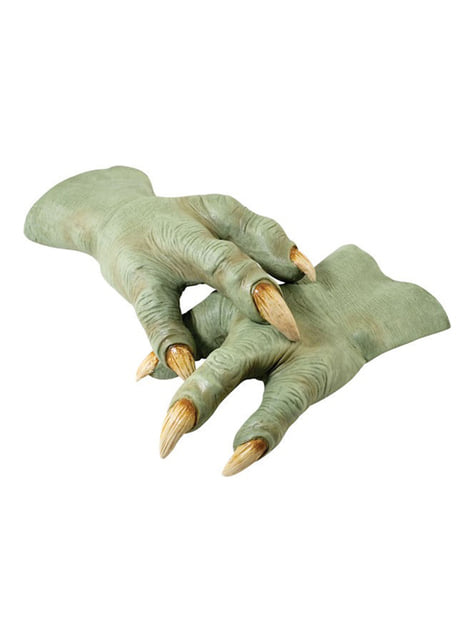Latex Yoda Hands