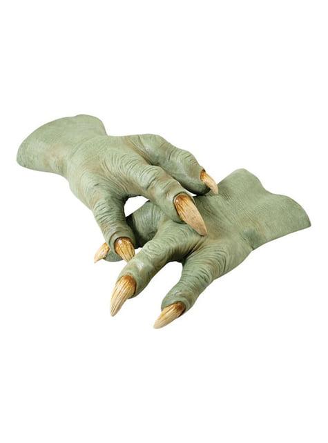 Mãos látex de Yoda