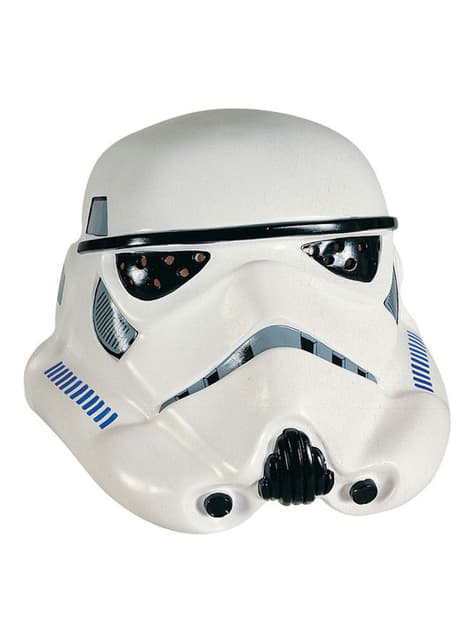 Máscara de vinil Stormtrooper Deluxe