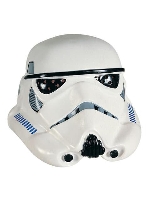 Máscara de vinilo Stormtrooper Deluxe