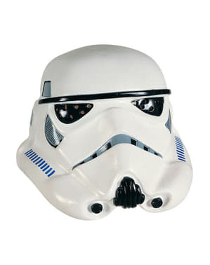 Deluxe Stormtrooper Masker van vinyl
