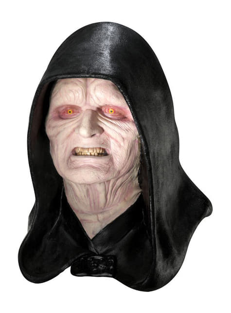 Latex Mask Kejsare Palpatine