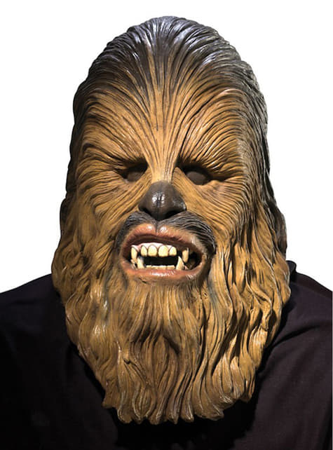 Deluxe Chewbacca Latex Mask