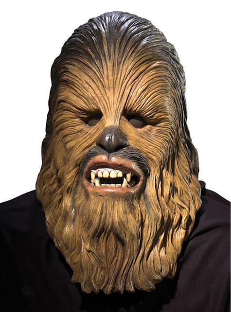 Latexová maska Chewbacca deluxe
