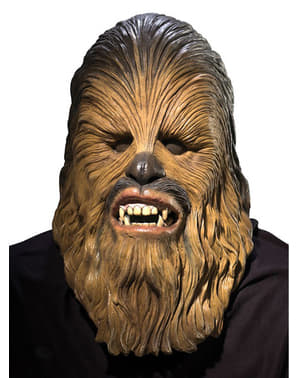 Chewbacce latexmaske deluxe