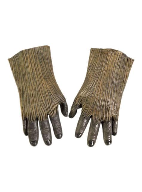 Mãos látex Chewbacca