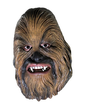 Chewbacca Vinyl 3/4 Mask (for Kids)