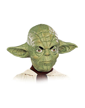 Yoda Vinyl 3/4 Maske (For Barn)