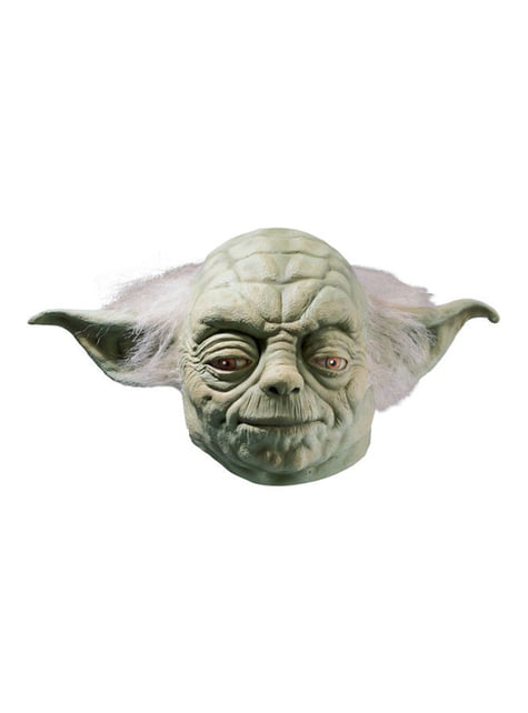 Maska z lateksu Yoda deluxe
