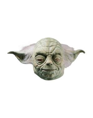 Maschera di lattice Yoda Deluxe