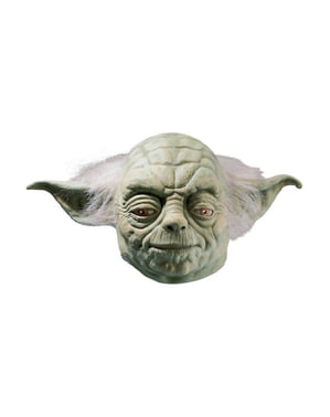 Yoda latex deluxe maske