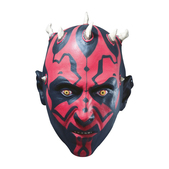 Máscara de látex de Darth Maul
