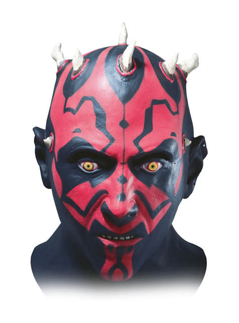 ​​Deluxe latexová maska Darth Maul