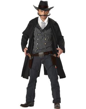Strój uzbrojony bandyta