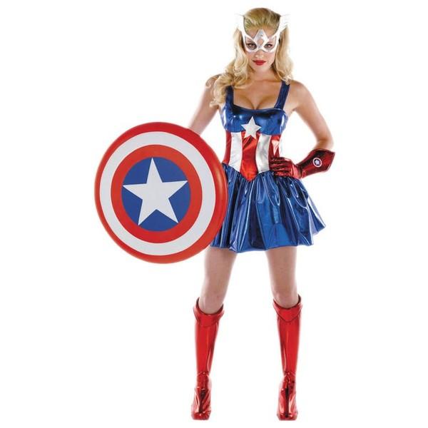 Centro De Mesa Capitán América: Famous Capitan America Avengers Vengadores Centros De Mesa