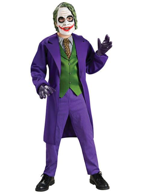 Fato de Joker Deluxe para menino