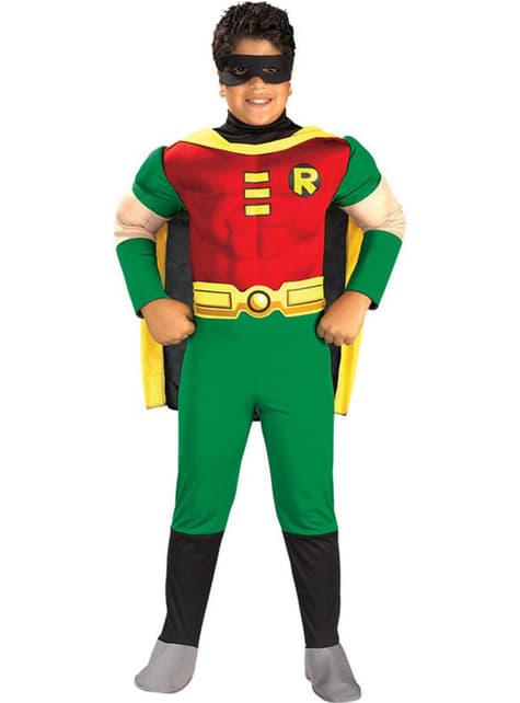 Muscular Robin Child Costume