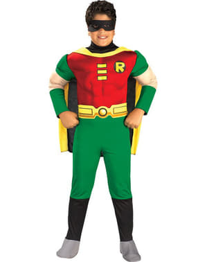 Muscular Robin Kids Costume