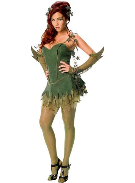 Sexy Poison Ivy Kostyme Voksen