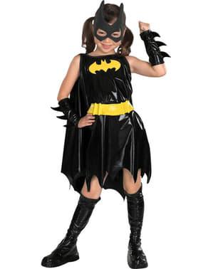Mädchenkostüm Batgirl